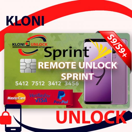 INSTANT Samsung-Galaxy-Sprint-S9-S9-Plus- Remote-Unlock-Service-G960U-G965U