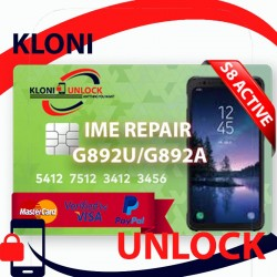 S8 ACTIVE G892U G892A G892T G892P REMOTE IMEI REPAIR FIX