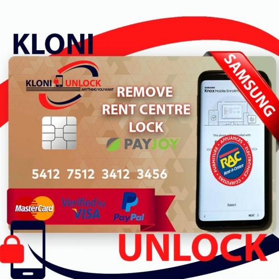 Samsung Rent Center Lock
